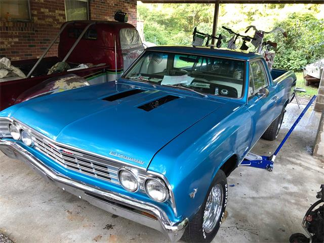 Picture of Classic '67 Chevrolet El Camino Offered by a Private Seller - QU1G