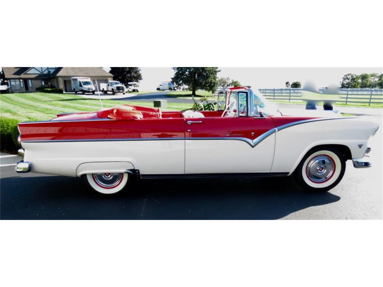 Large Picture of Classic '55 Ford Fairlane Offered by Classic Car Connection - QU8Q