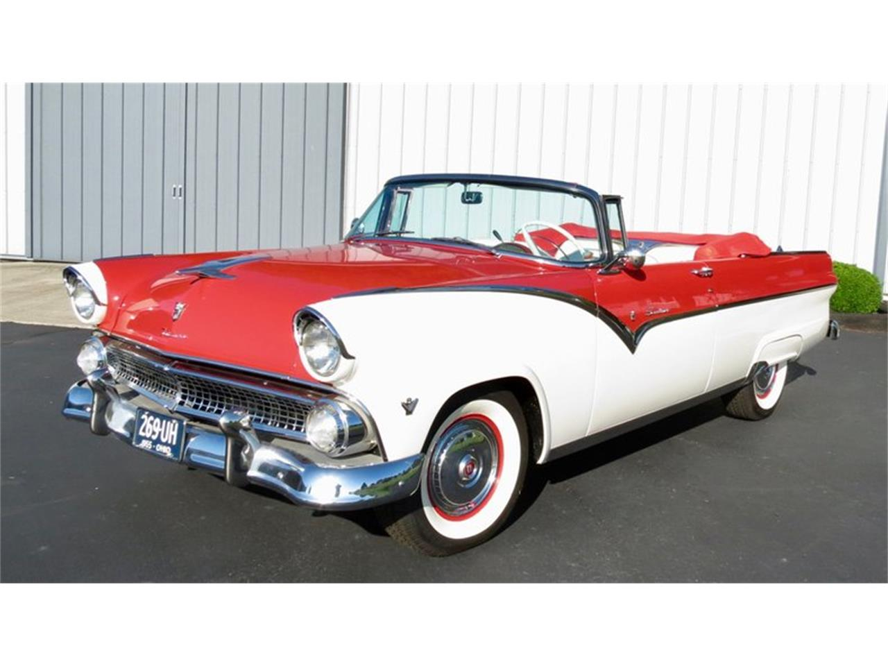 Large Picture of '55 Ford Fairlane located in Ohio - $38,500.00 Offered by Classic Car Connection - QU8Q
