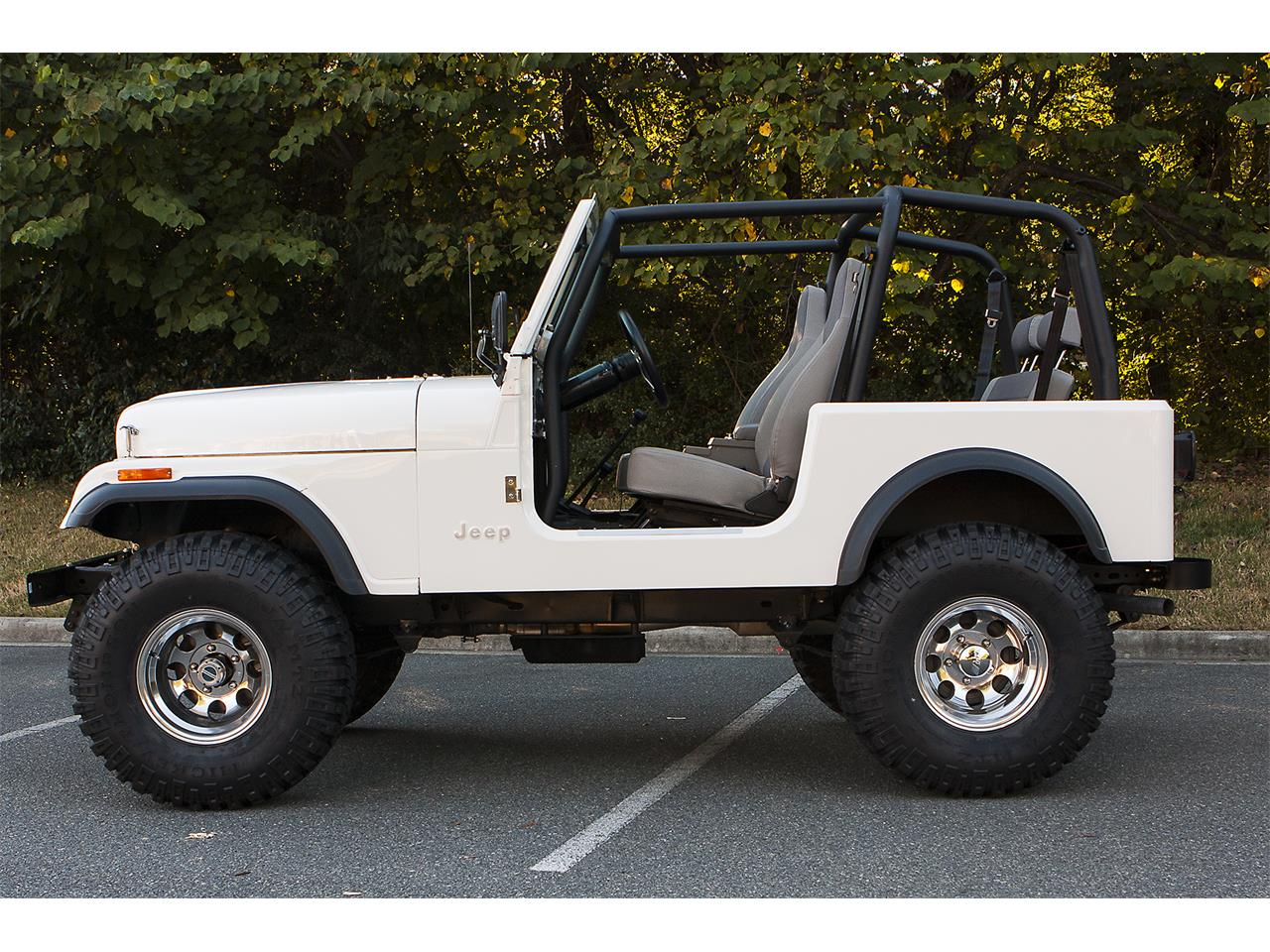 Large Picture of 1981 Jeep CJ7 located in Charlotte North Carolina Offered by a Private Seller - QUA5