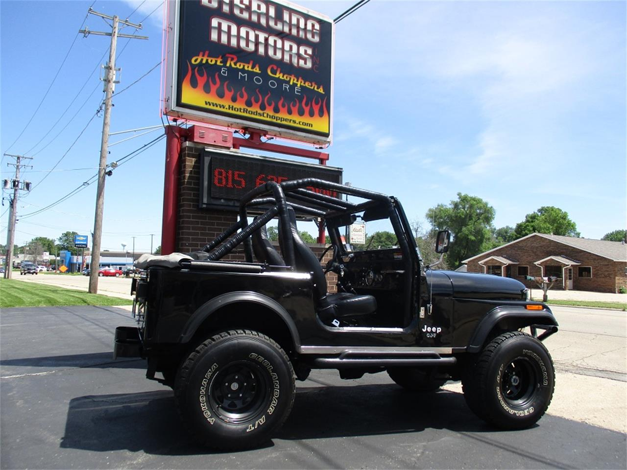 Large Picture of '80 Jeep CJ7 located in Illinois Offered by Sterling Motors Inc. - QUE6
