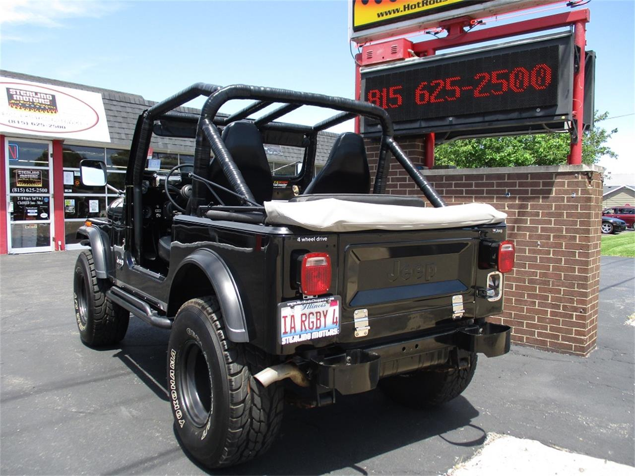 Large Picture of '80 Jeep CJ7 Offered by Sterling Motors Inc. - QUE6