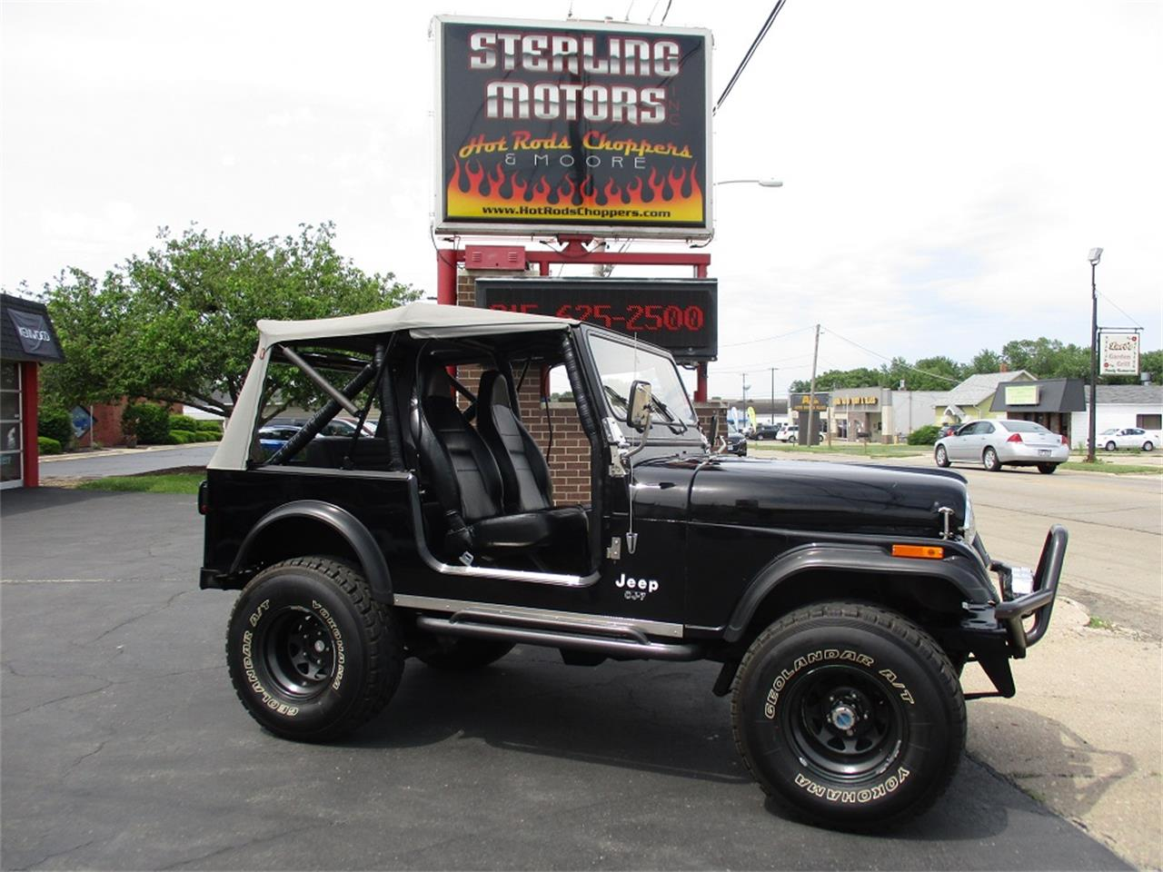 Large Picture of '80 Jeep CJ7 - $14,900.00 Offered by Sterling Motors Inc. - QUE6