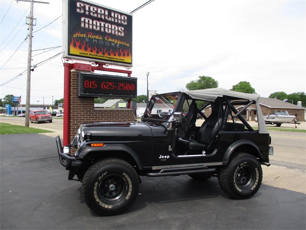 Large Picture of 1980 CJ7 located in Sterling Illinois - $14,900.00 Offered by Sterling Motors Inc. - QUE6
