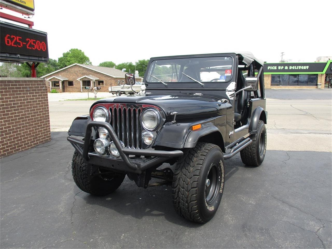 Large Picture of 1980 Jeep CJ7 located in Illinois Offered by Sterling Motors Inc. - QUE6