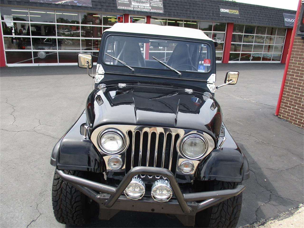 Large Picture of 1980 Jeep CJ7 located in Sterling Illinois - $14,900.00 Offered by Sterling Motors Inc. - QUE6