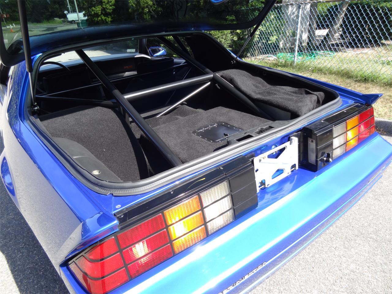 Large Picture of '83 Camaro IROC Z28 located in Hingham Massachusetts - QUEA