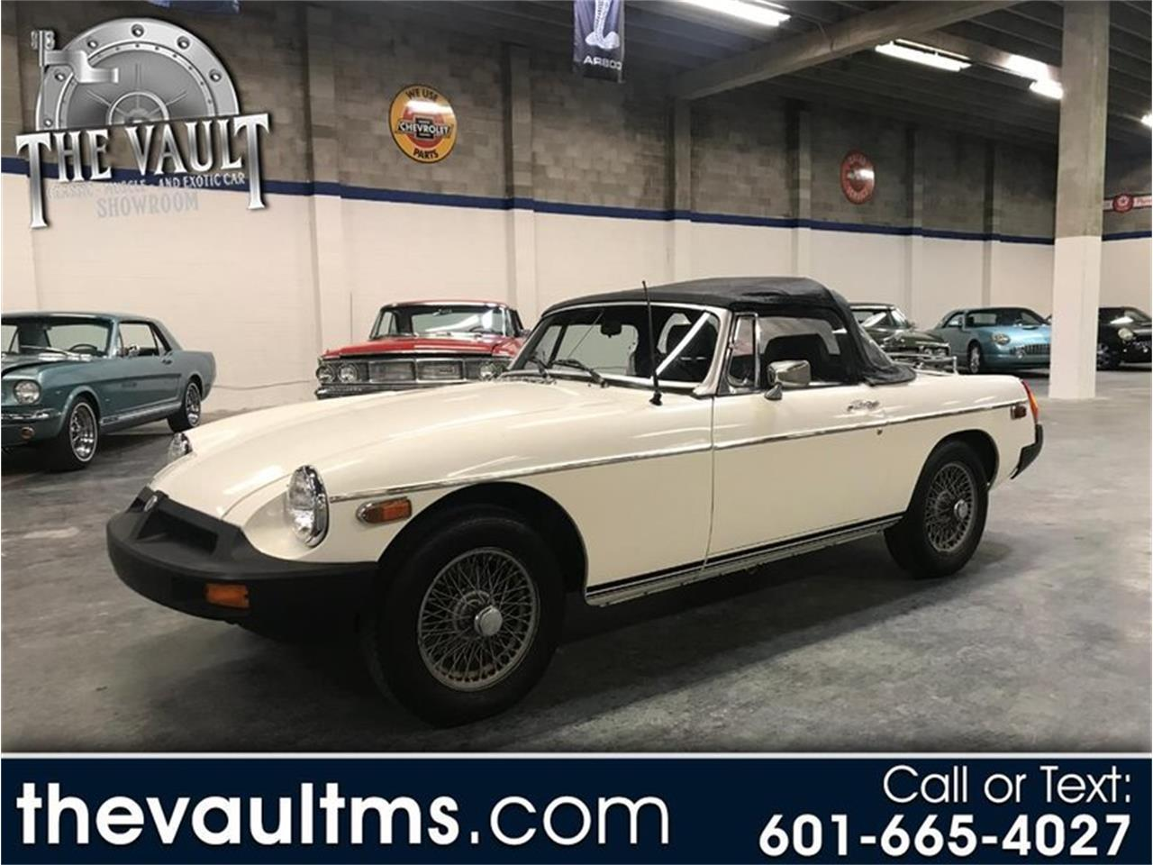 Large Picture of 1980 MG MGB Offered by Auction Assets Group - QUJS