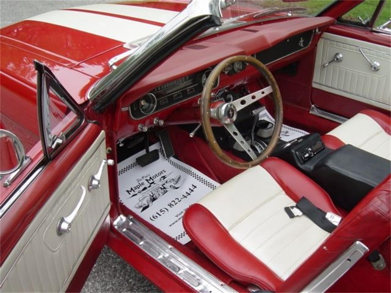 Large Picture of 1965 Mustang located in Hendersonville Tennessee Offered by Maple Motors - QUNC
