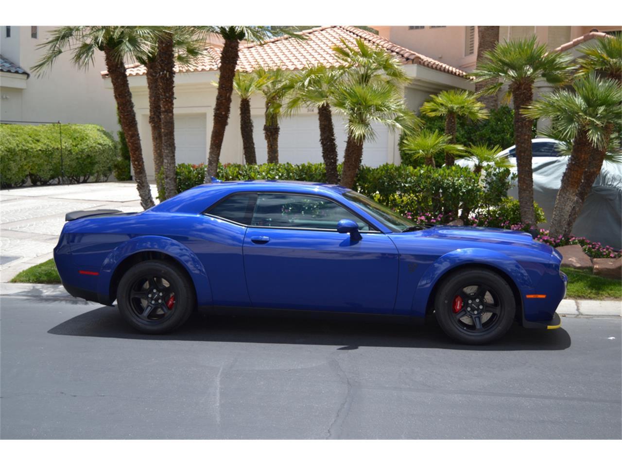 Large Picture of '18 Dodge Challenger SRT Demon Offered by Barrett-Jackson - QUTI