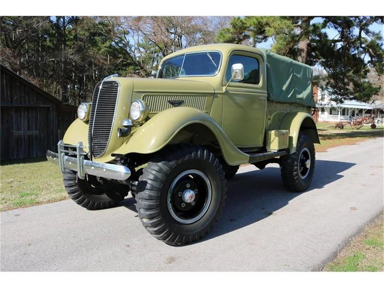 Large Picture of Classic '37 Ford Pickup Offered by Texas Trucks and Classics - QUVD
