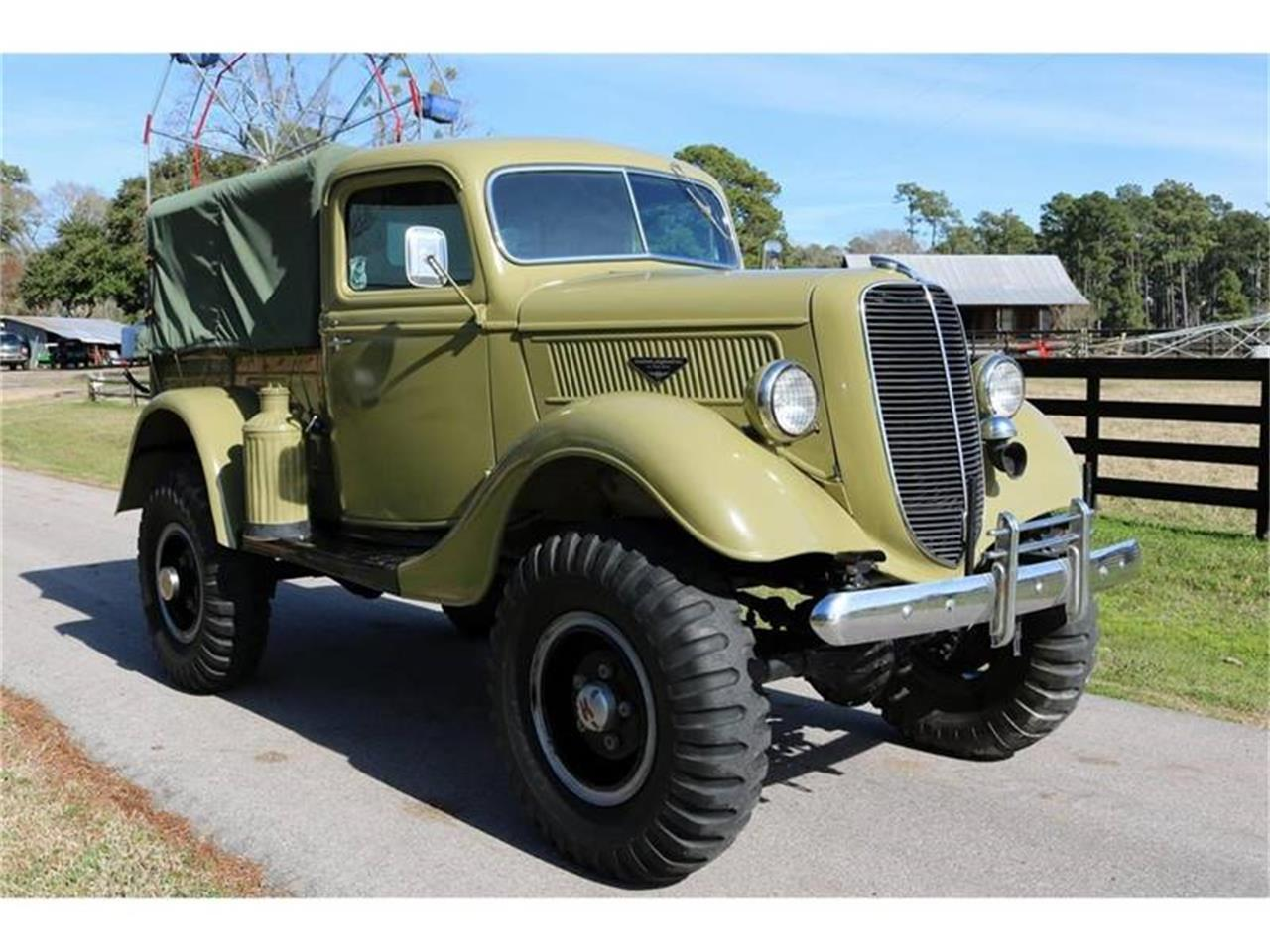 Large Picture of Classic '37 Ford Pickup - QUVD