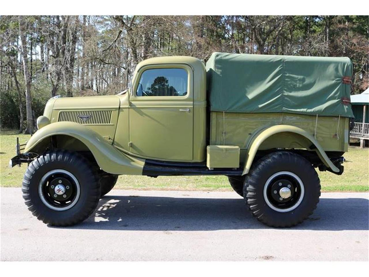 Large Picture of Classic 1937 Pickup located in Texas Offered by Texas Trucks and Classics - QUVD