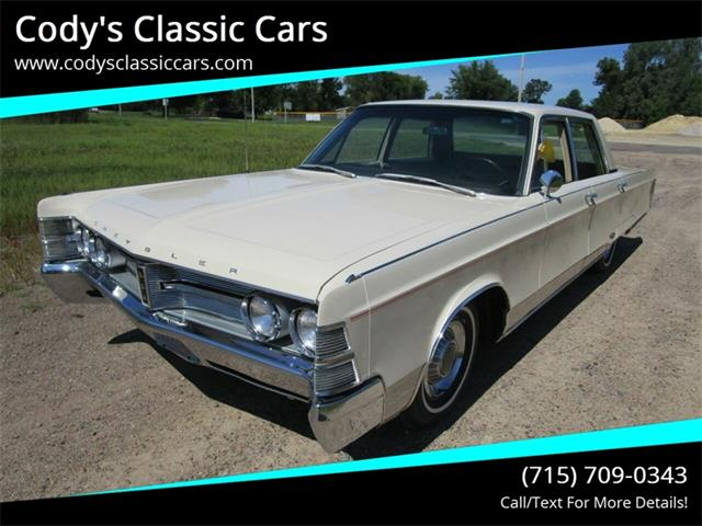 Picture of Classic 1967 Chrysler New Yorker - $10,900.00 Offered by  - QSR0