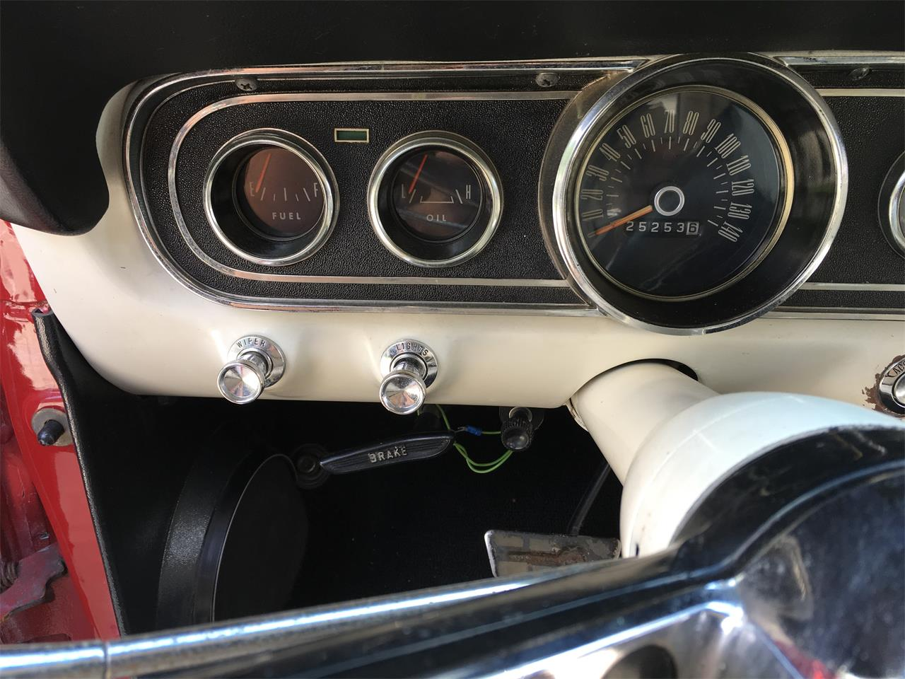 Large Picture of '66 Mustang - QV3Y