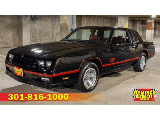 1986 to 1988 Chevrolet Monte Carlo for Sale on ClassicCars