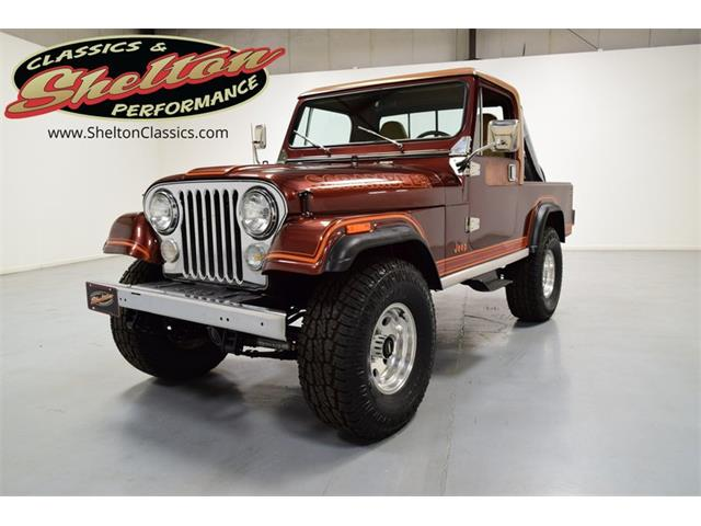 1981 Jeep CJ8 Scrambler