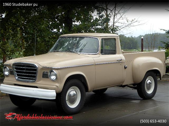Picture of '60 Studebaker Pickup Offered by  - QSTF