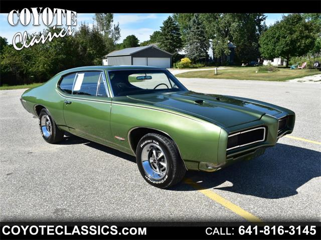 Picture of Classic '68 Pontiac GTO - $35,995.00 Offered by  - QVN1