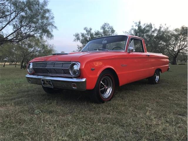 1963 Ford Ranchero for Sale on ClassicCars com on