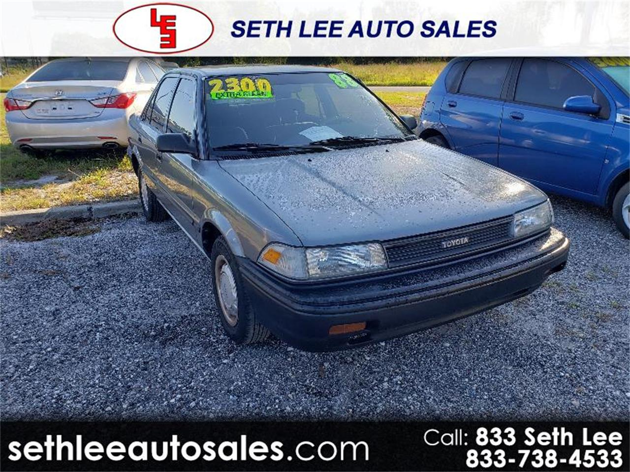 Large Picture of '88 Corolla - QSUE