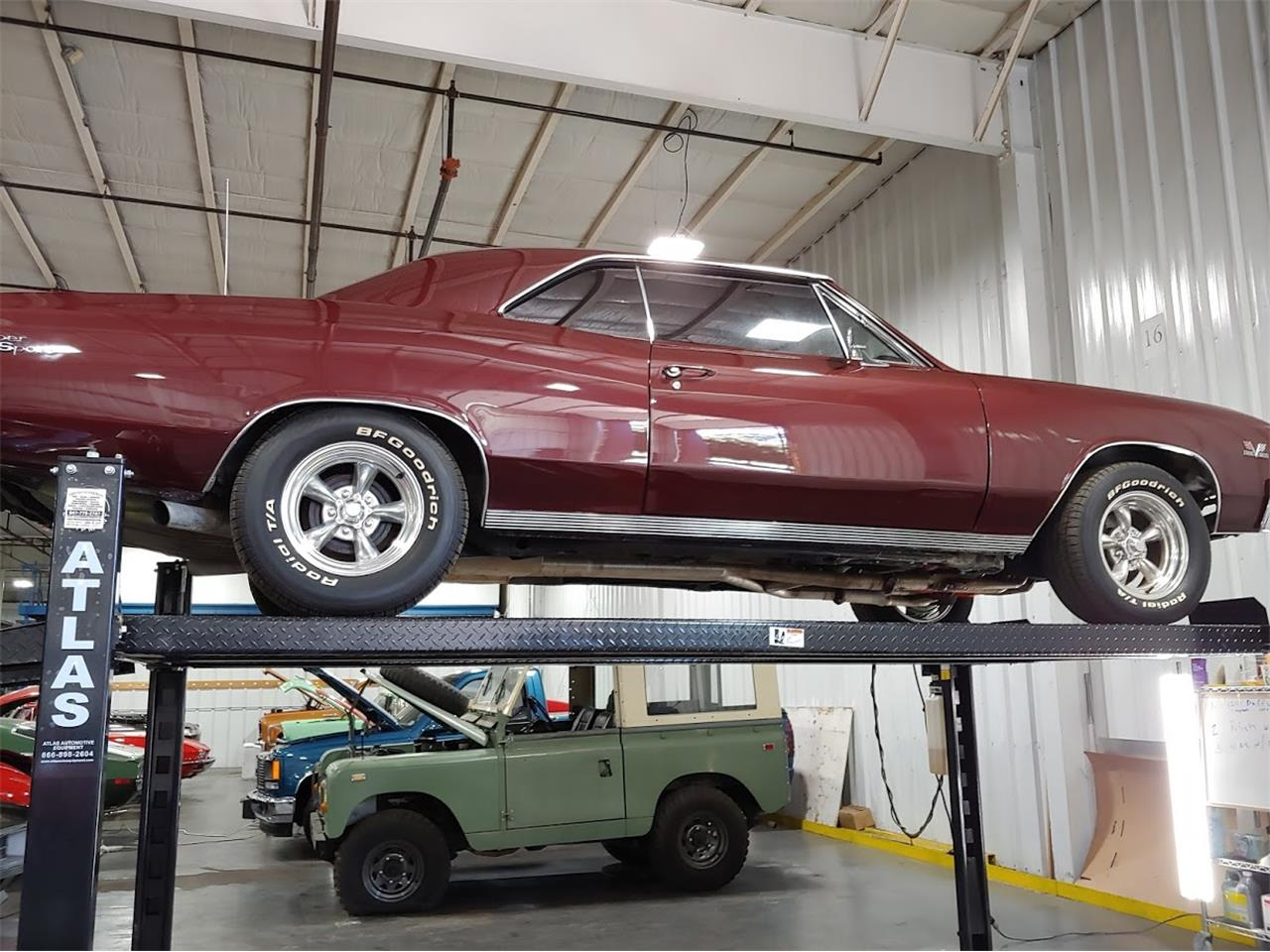 Large Picture of 1967 Chevelle SS located in Richmond Illinois Offered by Studio Hotrods - QW1M