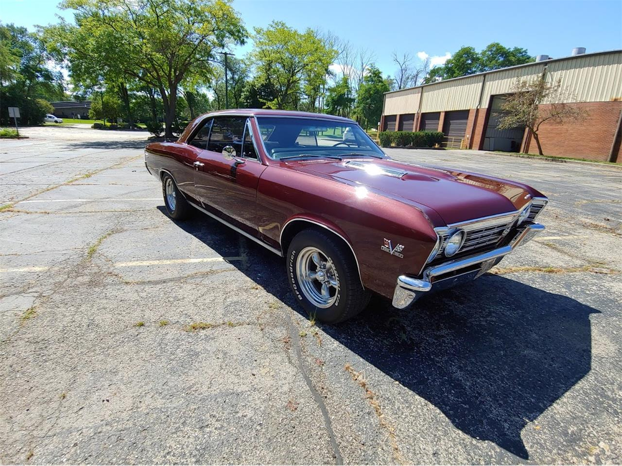 Large Picture of '67 Chevrolet Chevelle SS located in Illinois - QW1M