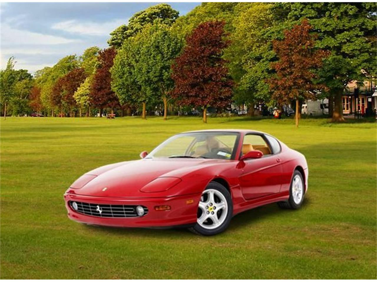 Large Picture of '99 Ferrari 456 Auction Vehicle - QW36