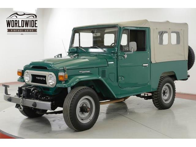 Classic Toyota Land Cruiser for Sale on ClassicCars com on