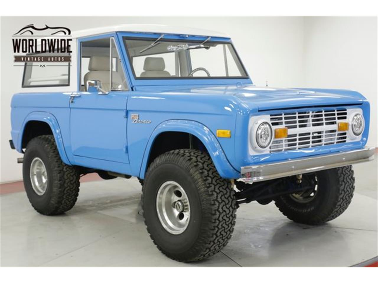 Large Picture of '67 Bronco - QW5D