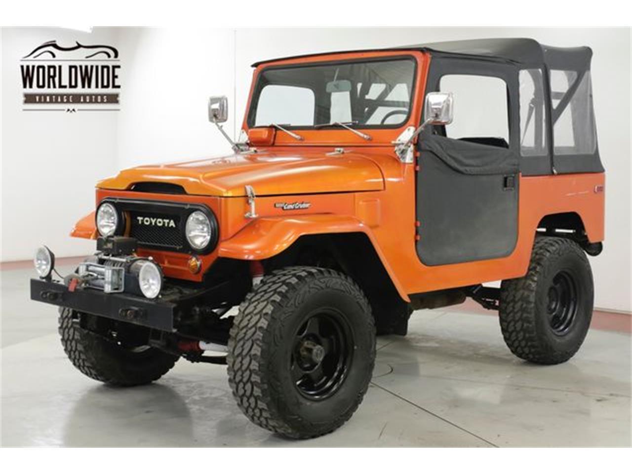 For Sale: 1972 Toyota Land Cruiser FJ in Denver , Colorado