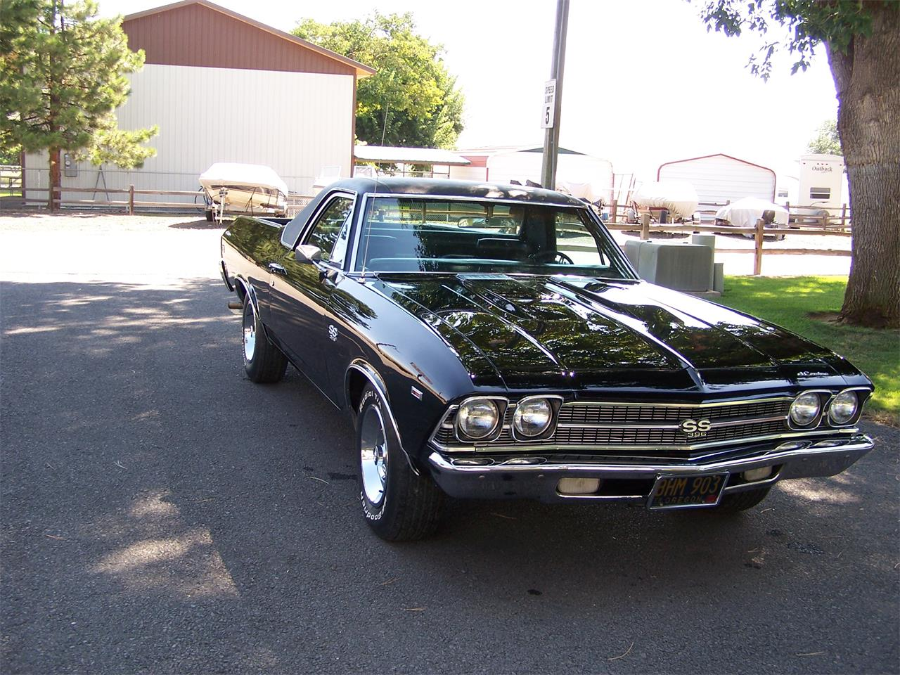 Large Picture of '69 El Camino SS - QWA8