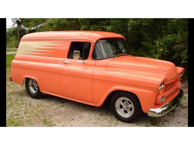 Picture of Classic 1958 Chevrolet Panel Truck Offered by  - QWDJ