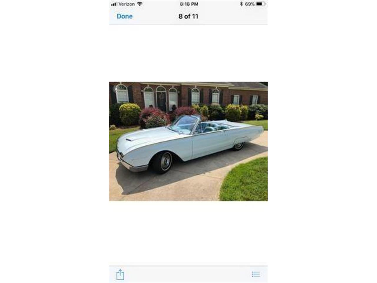 Large Picture of Classic 1961 Thunderbird - $27,000.00 Offered by DP9 Motorsports - QWHZ