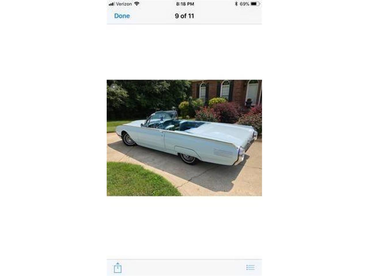 Large Picture of Classic 1961 Thunderbird located in Long Island New York - $27,000.00 - QWHZ