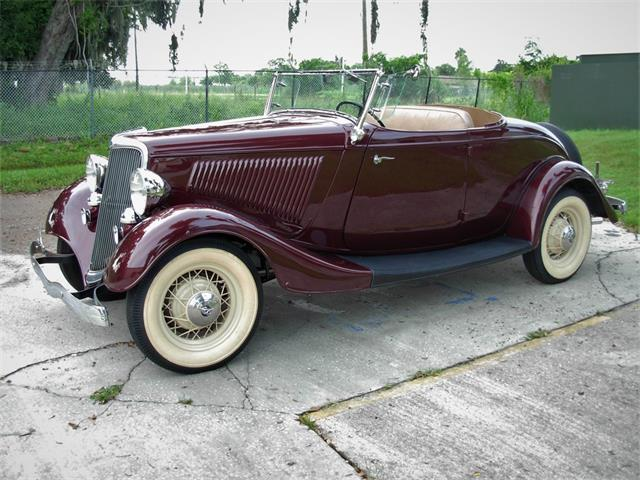 Picture of '34 Ford Roadster located in Palmetto Florida Offered by  - QSX5