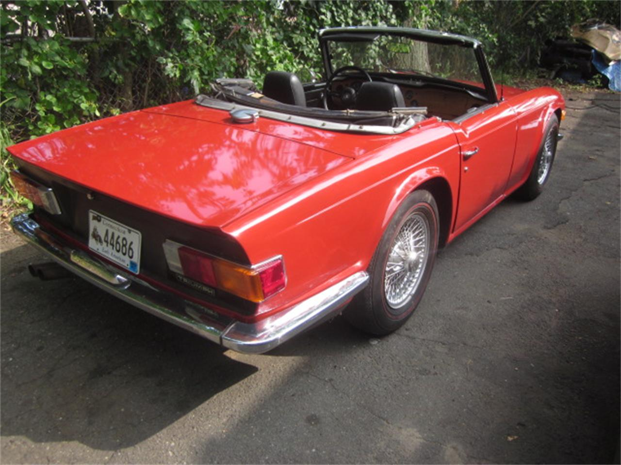 Large Picture of Classic '71 TR6 - $15,900.00 Offered by The New England Classic Car Co. - QWT8