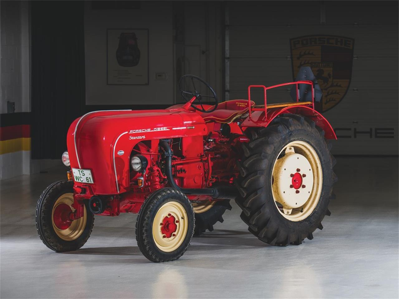 Large Picture of '57 Tractor - QWTQ
