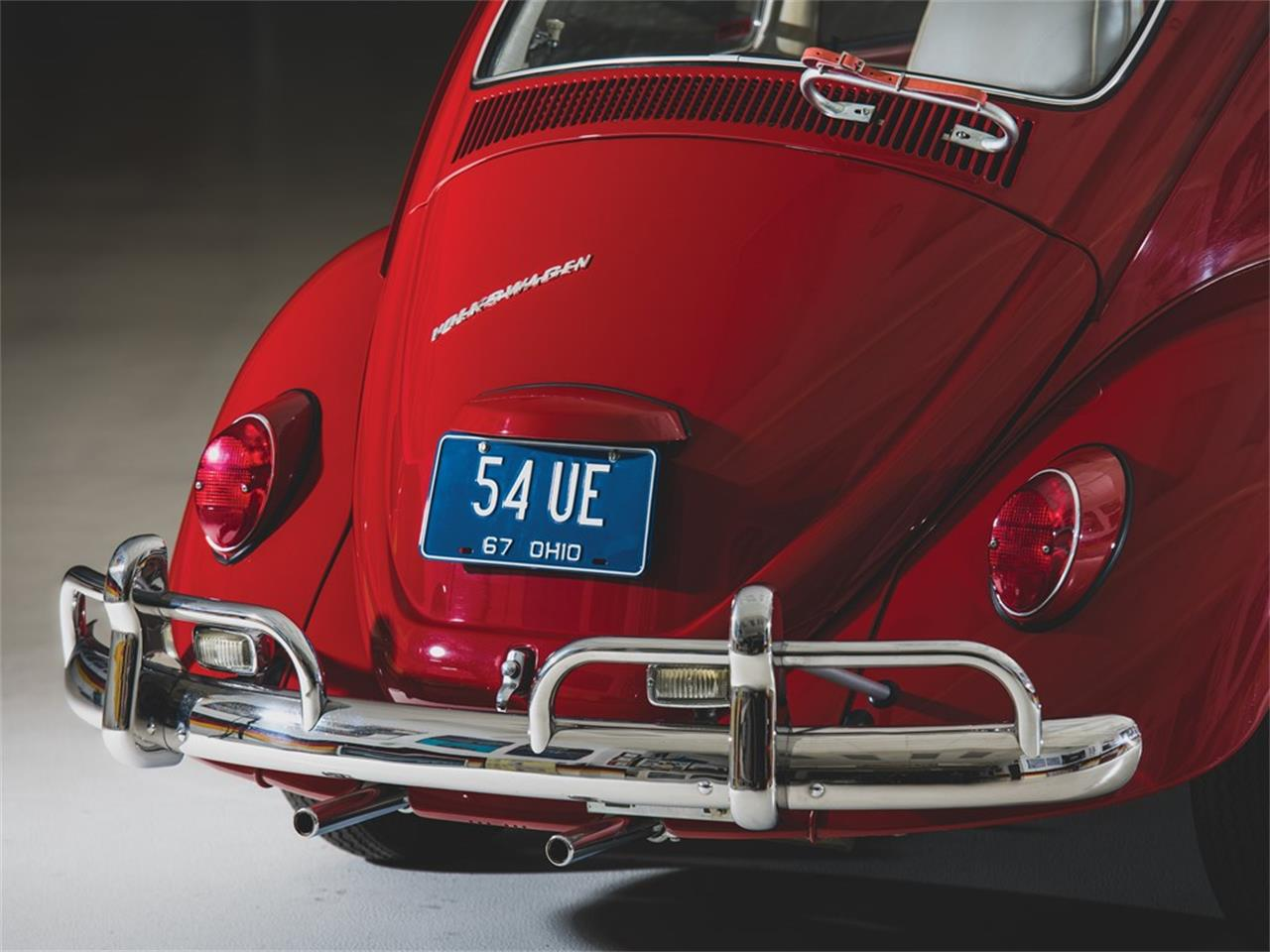 Large Picture of Classic 1967 Beetle located in Ohio Auction Vehicle Offered by RM Sotheby's 405 (remove ID# on next use) - QWTU