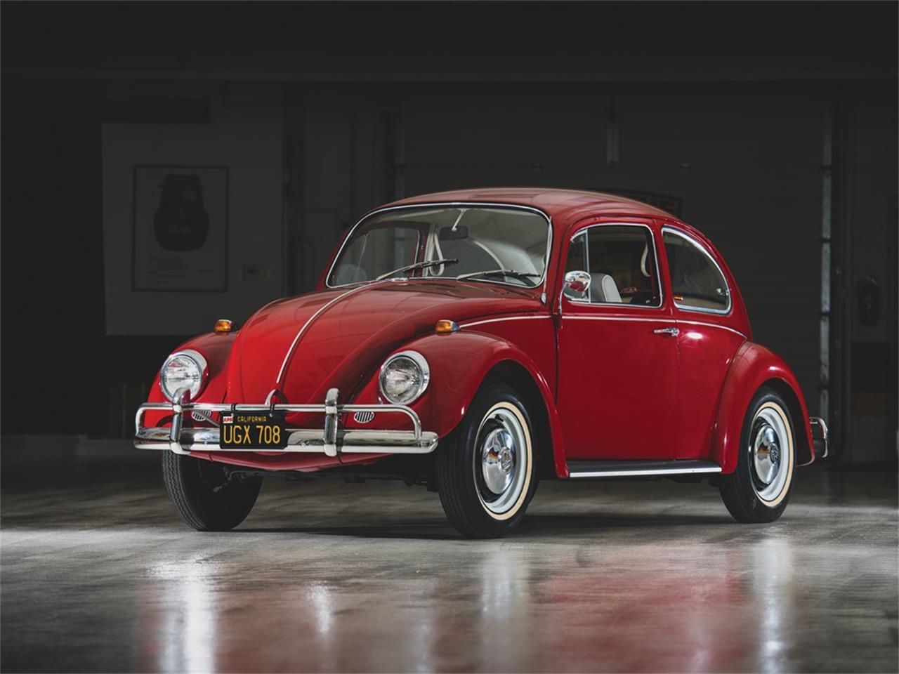 Large Picture of Classic '67 Volkswagen Beetle located in Ohio Auction Vehicle Offered by RM Sotheby's 405 (remove ID# on next use) - QWTU