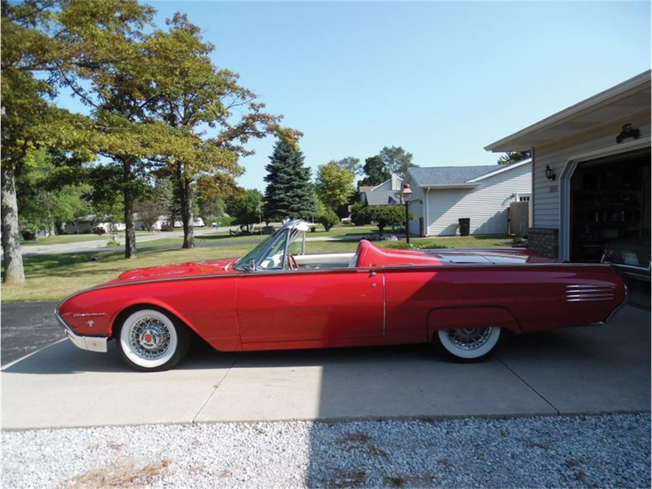 Large Picture of 1961 Ford Thunderbird located in Venice Florida - QX18