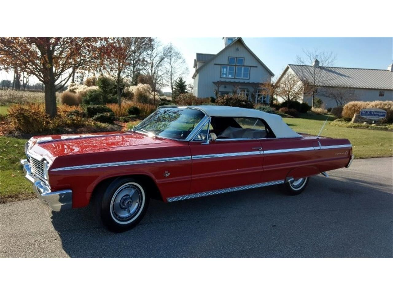 Large Picture of 1964 Impala SS located in Ohio Auction Vehicle - QX31