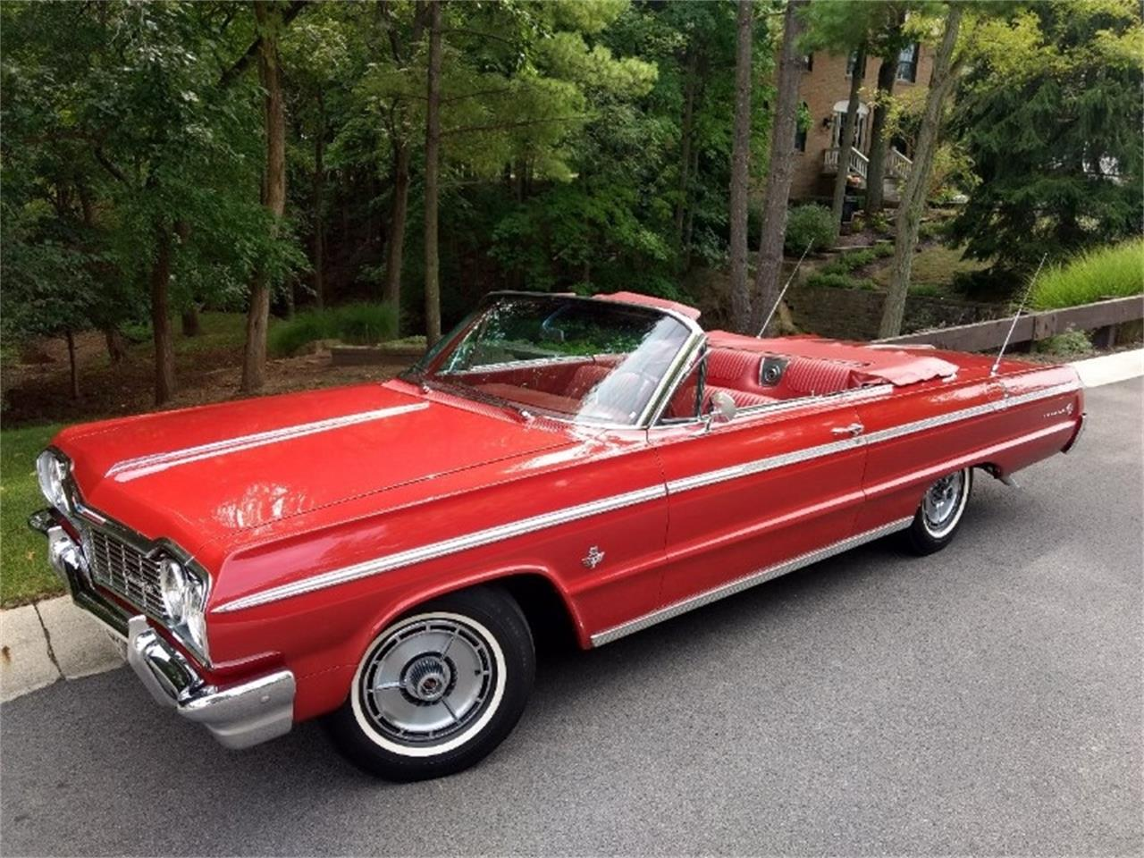 Large Picture of 1964 Chevrolet Impala SS located in Ohio Auction Vehicle Offered by Route 36 Motor Cars - QX31