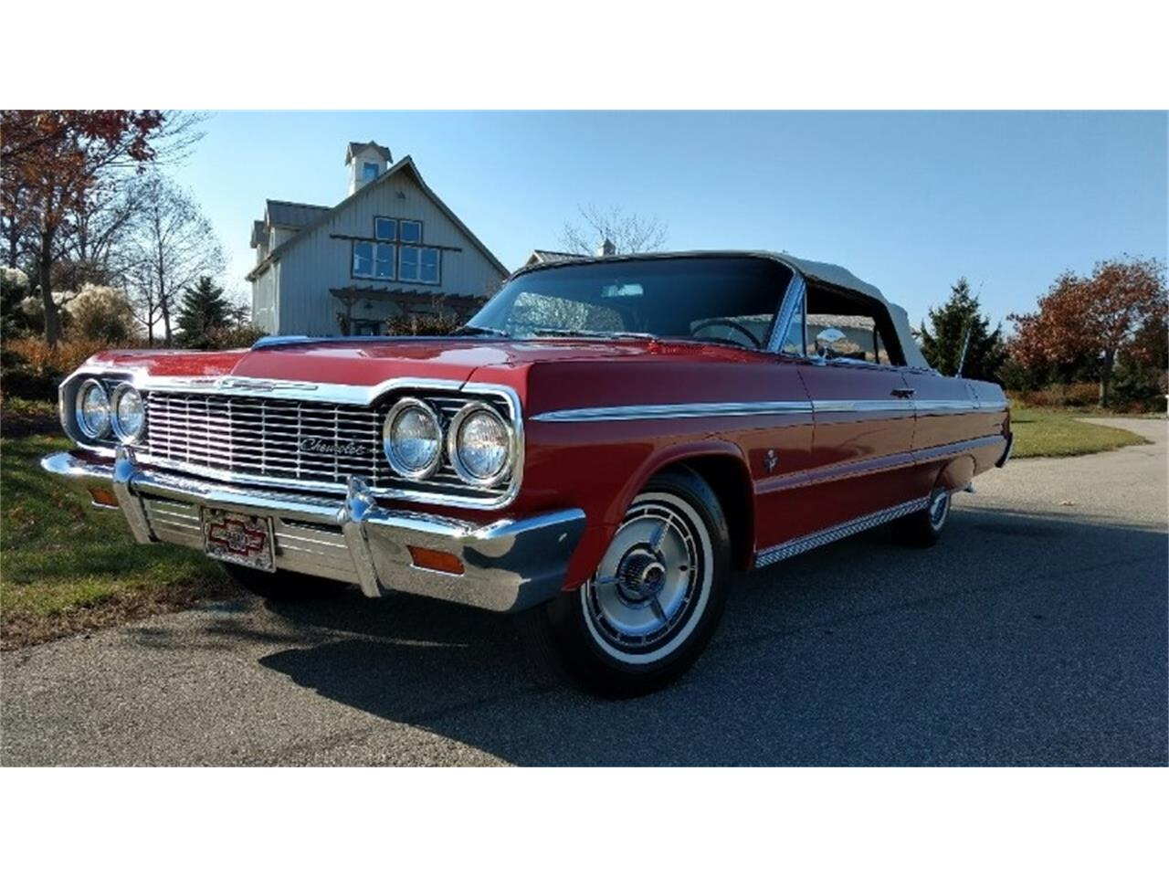 Large Picture of Classic 1964 Impala SS located in Ohio Auction Vehicle Offered by Route 36 Motor Cars - QX31