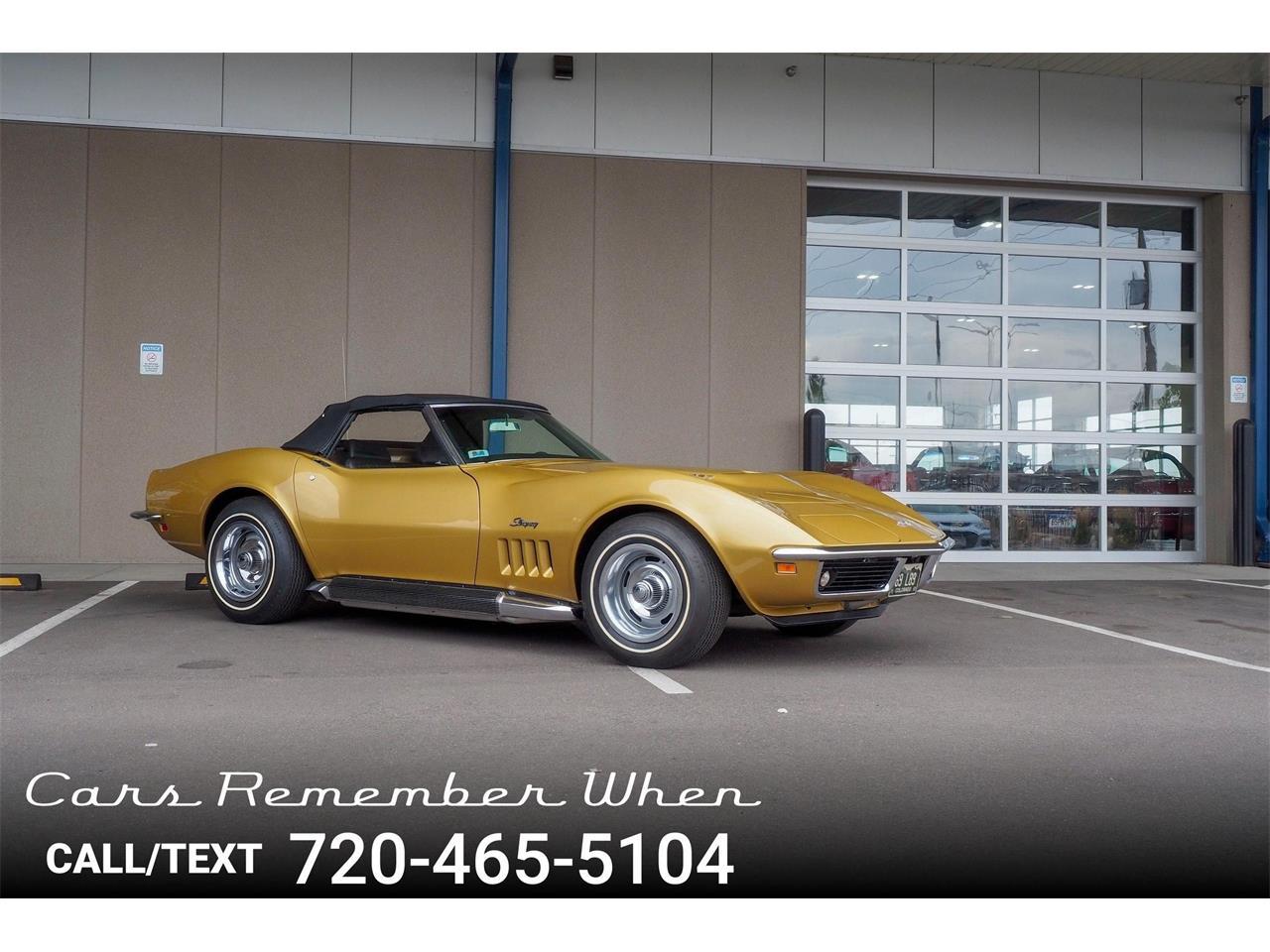 For Sale: 1969 Chevrolet Corvette in Englewood, Colorado
