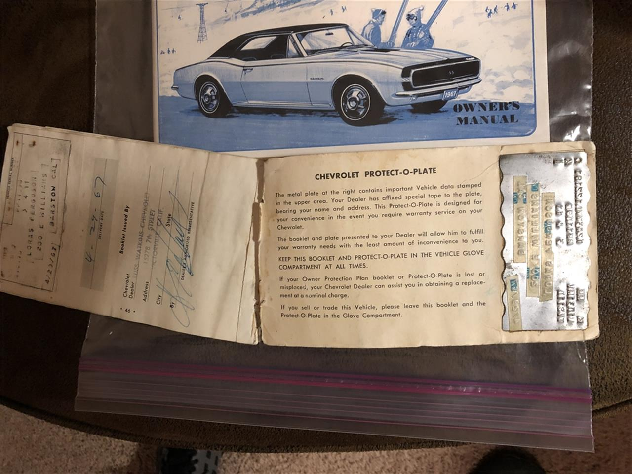 Large Picture of '67 Camaro RS/SS - QSZ0