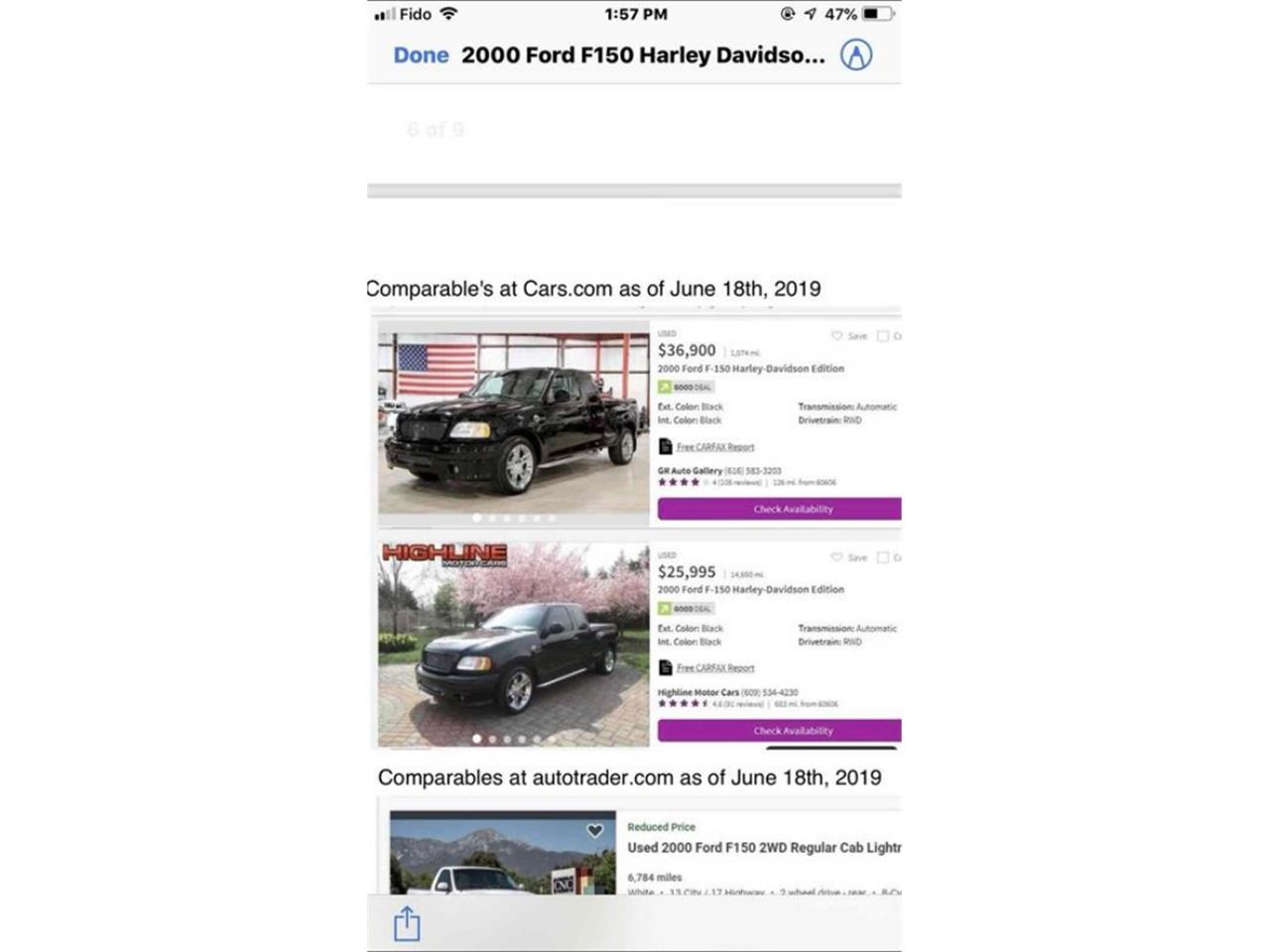 Large Picture of 2000 F150 - $36,500.00 - QXA3