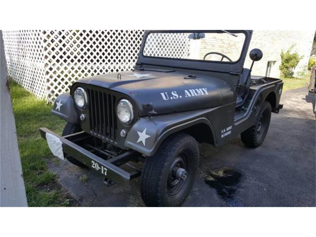 Large Picture of '58 Jeep - QXC2