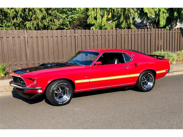 Picture of Classic 1969 Ford Mustang Auction Vehicle Offered by  - QXEG