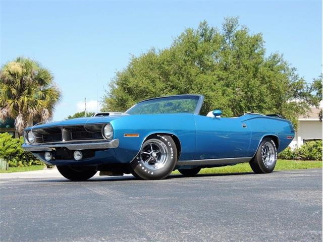 Classic Plymouth Cuda for Sale on ClassicCars com on